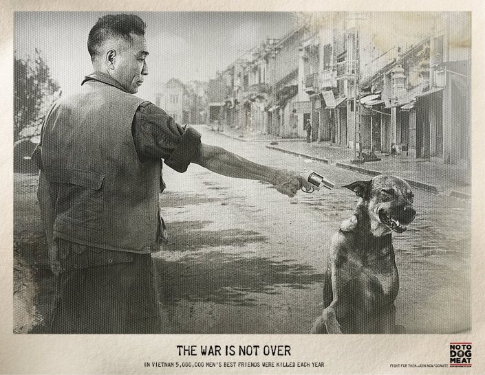 Young and Rubicam - THE WAR IS NOT OVER