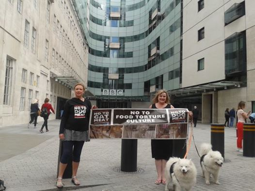 #Notodogmeat at the BBC!